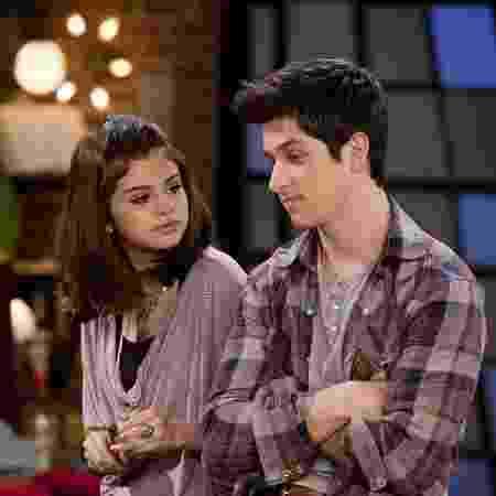Selena Gomez e David Henrie  - Divulgação