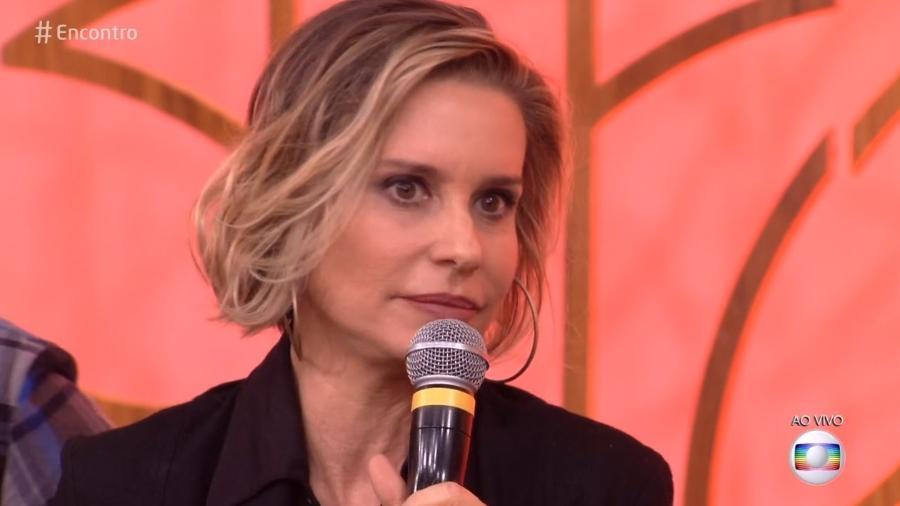 """Paula Burlamaqui participa do """"Encontro"""" - Reprodução/Globo"""