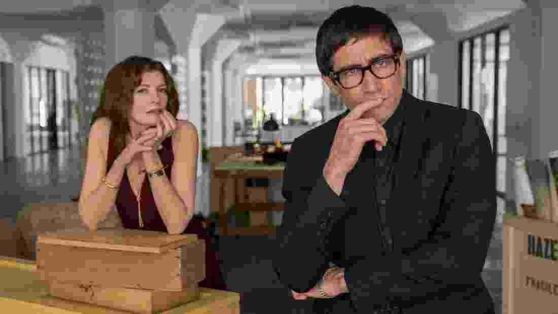 """Rene Russo e Jake Gyllenhaal em cena de """"Velvet Buzzsaw"""" - Divulgação/Claudette Barius"""