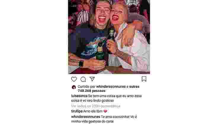 Whin Luisa - Reprodução/Instagram - Reprodução/Instagram
