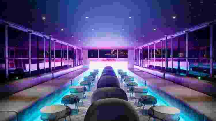 """Interior do navio The A, que fará cruzeiro com estrelas do programa """"RuPaul's Drag Race"""" - Divulgação/U River Cruises - Divulgação/U River Cruises"""