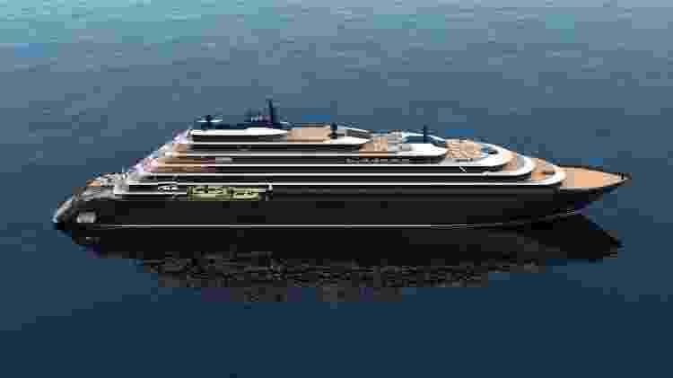 Está marcada para fevereiro de 2020 a viagem inaugural do primeiro cruzeiro marítimo da rede hoteleira Ritz-Carlton - Divulgação