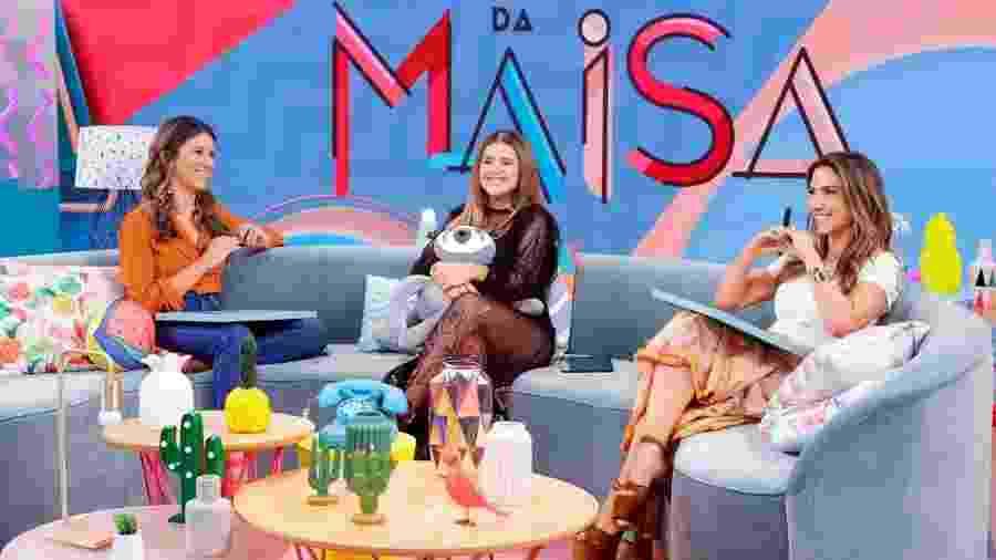 As irmãs Rebeca e Patricia fizeram revelações no Programa da Maisa, no SBT - Gabriel Cardoso/SBT