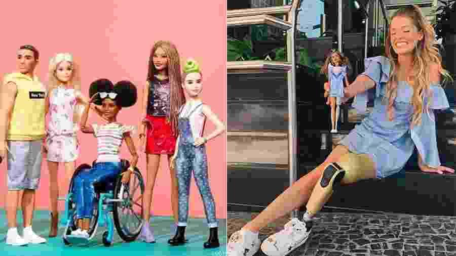 Há 5 anos, influenciadora teve sua perna amputada depois de sofrer um acidente de carro, em 2014 - Reprodução/Instagram