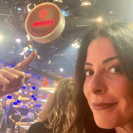 Ana Paula Padrão mostra relógio de MasterChef: A Revanche - Reprodução/Instagram/anapaulapadraooficial
