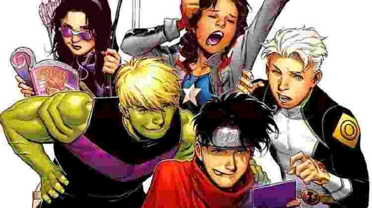 Os Jovens Vingadores - Reprodução