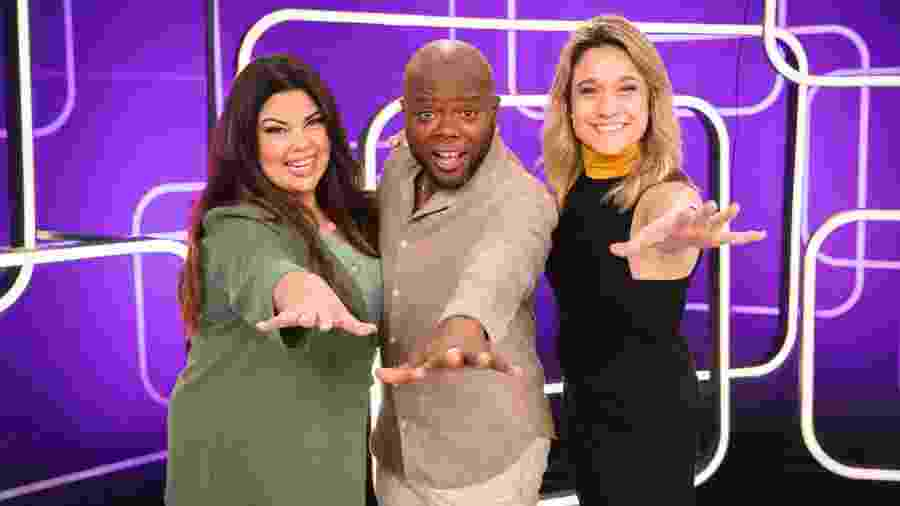 Fabiana Karla, Érico Brás e Fernanda Gentil comandam o Se Joga - Victor Pollak/Globo