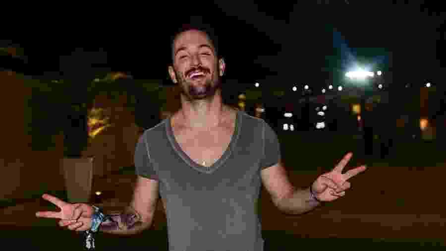 Diego Hypólito comparece ao Rock in Rio 2019 no último dia do festival - Leo Franco/AgNews