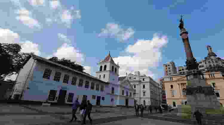 Fachada do Pátio do Colégio, em São Paulo - Rivaldo Gomes/Folhapress
