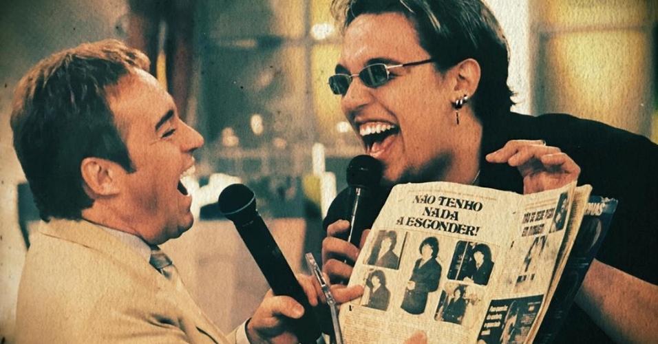 Gugu Liberato e Kiko, do KLB