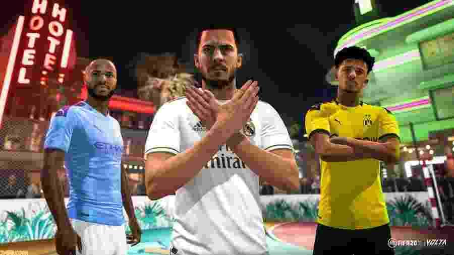 """""""Nosso objetivo é continuar aumentando o lucro, mesmo investindo em novas plataformas"""", disse Blake Jorgensen, executivo da empresa - Reprodução/FIFA 20"""