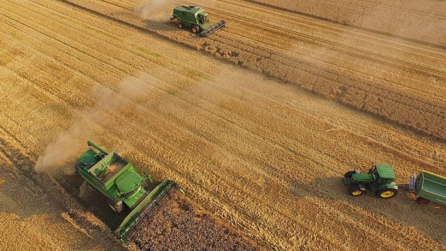 Cientistas asseguram que a subida nos níveis de metano na atmosfera se deve também às emissões geradas por atividades humanas, como a agricultura - Getty Images/BBC