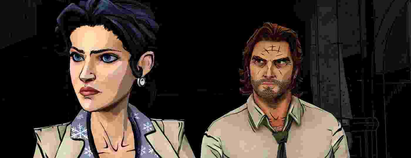 Snow e Bigby são personagens importantes de The Wolf Among Us, jogo em episódios lançado pela Telltale a partir de 2013 - Divulgação