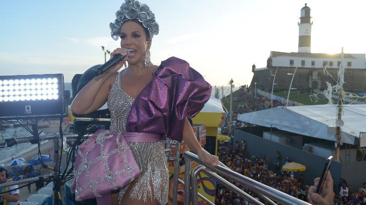 A apaixonada rainha louca de amor - André Muzell/Brazil News