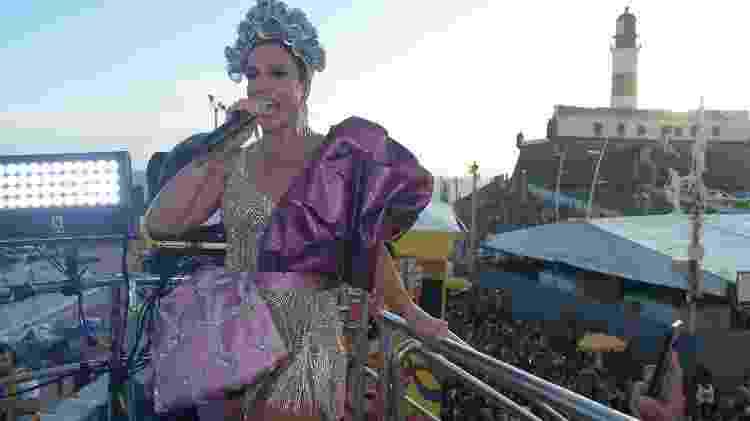 A apaixonada rainha louca de amor - André Muzell/Brazil News - André Muzell/Brazil News