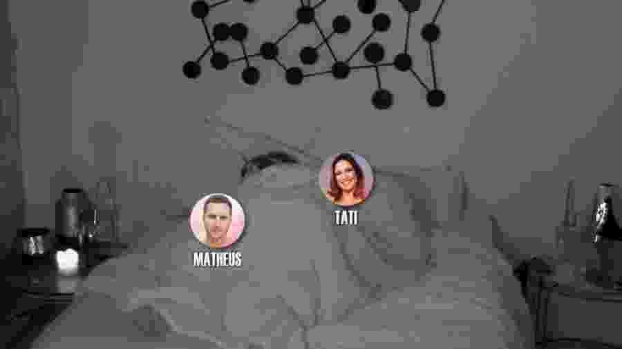 """Tati transa com Matheus no """"De Férias com o Ex"""" - Reprodução/MTV"""