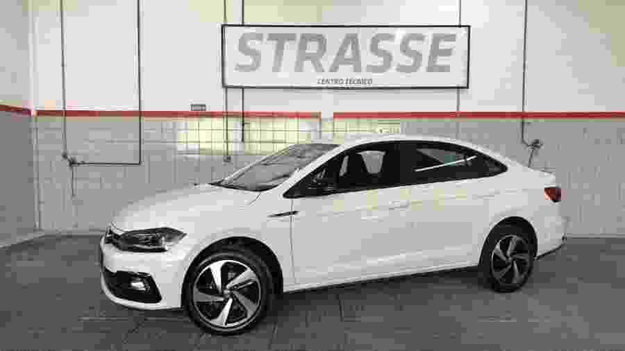Volkswagen Virtus GTS com kit da Oettinger - Divulgação