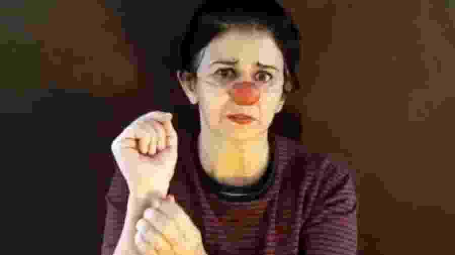 """Grupo de atores """"Palhaços Sem Juízo"""" fazem a campanha """"Não se cale!"""" - Divulgação"""