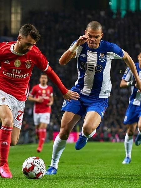Benfica x Porto em ação pelo Português: campeonato compartilhado   - Divulgação