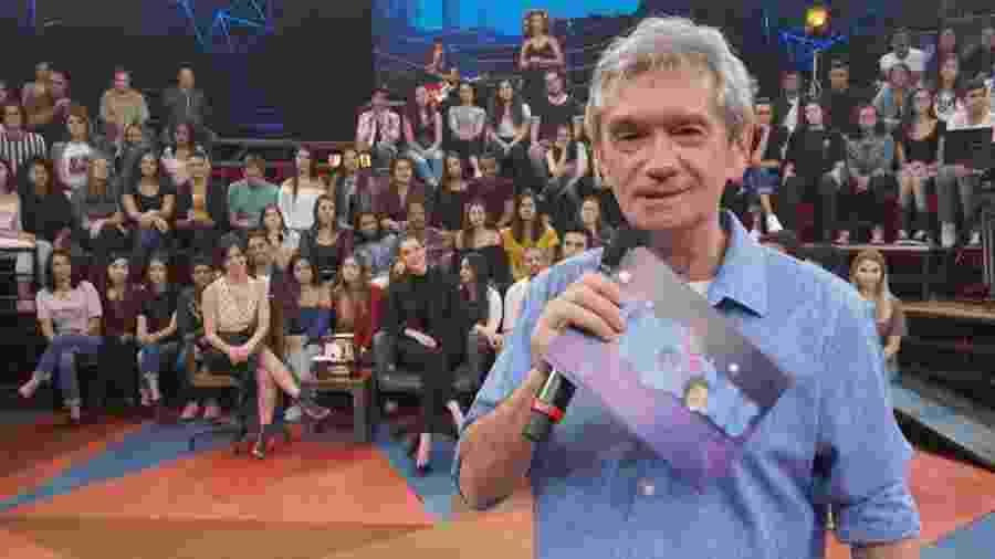 """Serginho Groisman no """"Altas Horas"""" - Divulgação/Globo"""