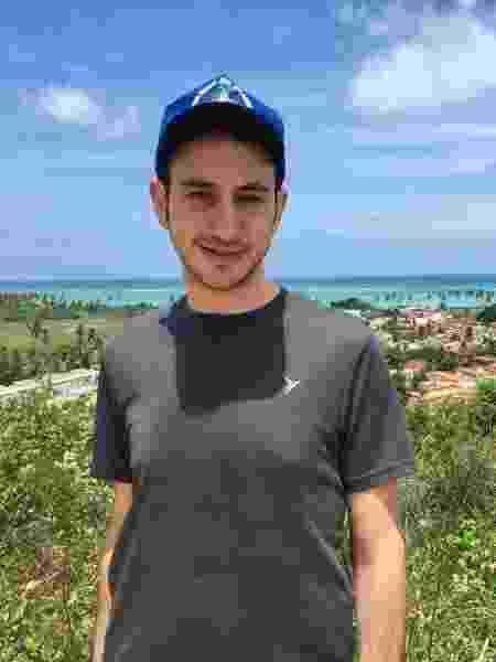 Ben Shragge no Nordeste do Brasil - Arquivo pessoal - Arquivo pessoal