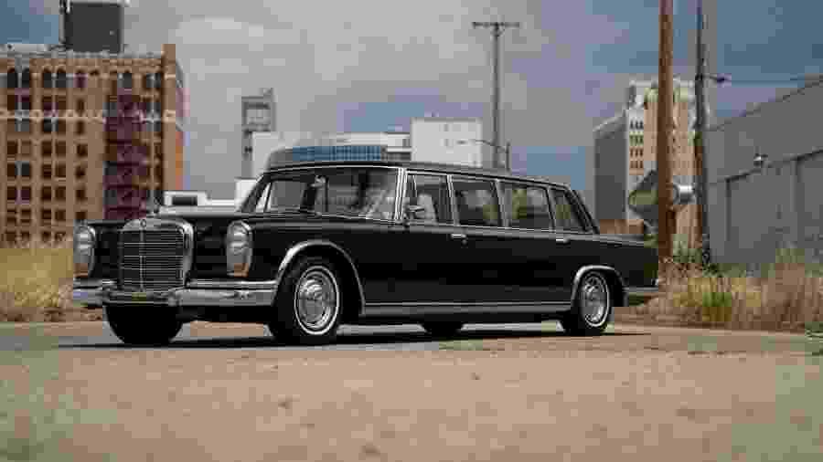 Mercedes 600 Pullman 1965 - Divulgação