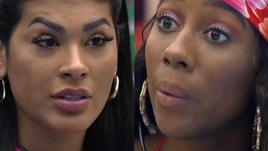 BBB 21: Pocah e Camilla tem DR - Reprodução/Globoplay