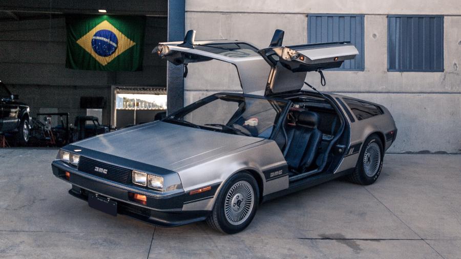 Das telas para a garagem: DMC DeLorean foi estrela do filme De Volta Para o Futuro e hoje está na garagem de fã - Reprodução/Diego Garcia @photodiegogarcia