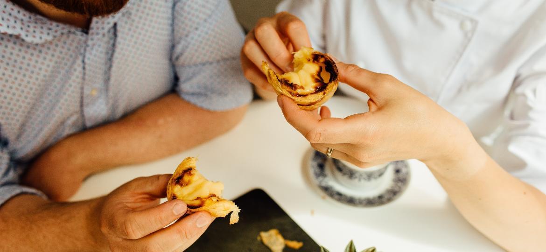 Pasteis de nata são uma das muitas receitas portuguesas que ganharam o mundo - Getty Images
