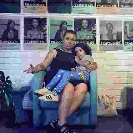 Carol Patrocinio e o filho Chico - Arquivo Pessoal