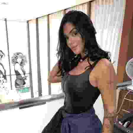 Ex-BBB Mayara Motti ate já mudou o visual para novo trabalho - Divulgação TM Produções