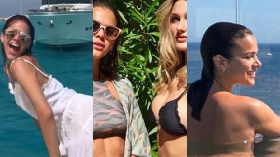 """O mês de solteira de Bruna Marquezine: dançou """"Paradinha"""", causou com Sasha e fez topless - Reprodução/Instagram"""