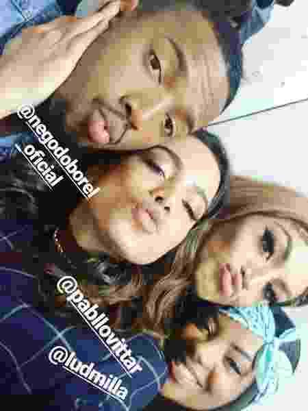 Nego do Borel, Anitta, Pabllo Vittar e Ludmilla - Reprodução/Instagram - Reprodução/Instagram