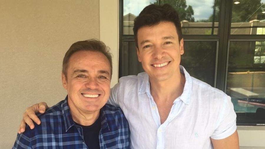 Gugu e Rodrigo Faro são dois dos mais importantes contratados da Record - Divulgação/TV Record