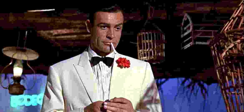 """Sean Connery como James Bond em """"007 contra Goldfinger"""" - Divulgação"""