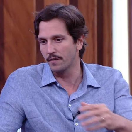 """Vladimir Brichta no """"Conversa com Bial"""" - Reprodução/Globo"""