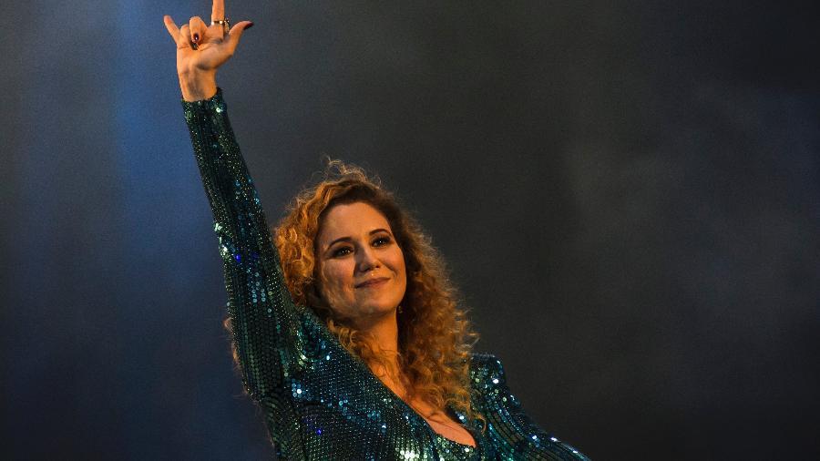 Maria Rita se apresenta no Palco Sunset no terceiro dia do Rock In Rio 2017 - Bruna Prado/UOL