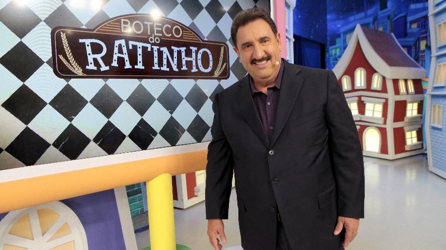 Carlos Massa, o Ratinho, uma das maiores audiências do SBT - Lourival Ribeiro/Divulgação SBT