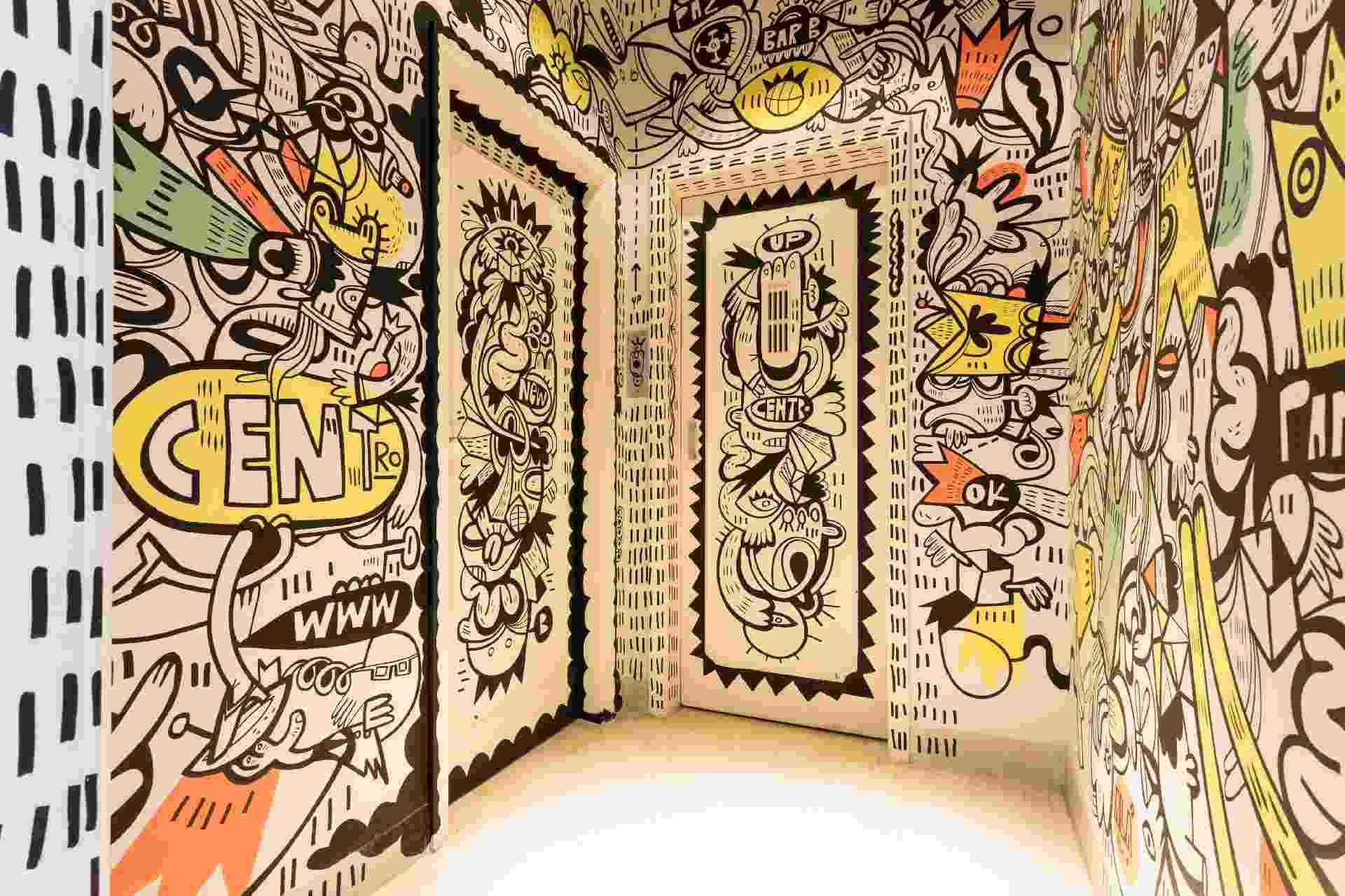 Grafite as paredes - Guilherme Marcato/ Estúdio São Paulo