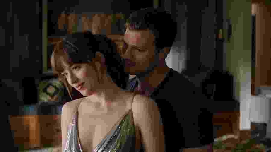 """Ana e Christian em """"Cinquenta Tons de Liberdade"""" - Divulgação"""