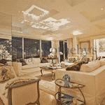 Mais uma das salas do apartamento da apresentadora Luciana Gimenez, que está a venda - Divulgação/Sotheby's