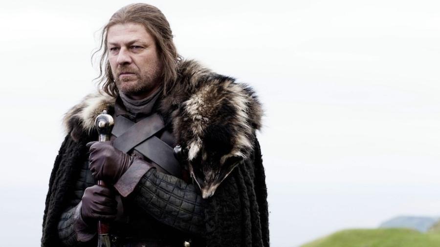 """Sean Bean como Ned Stark em cena de """"Game of Thrones"""" - Reprodução"""