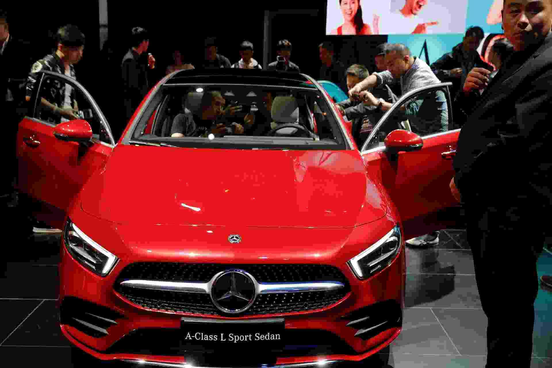 Mercedes-Benz Classe A Sedan Longo - Damir Sagolj/Reuters