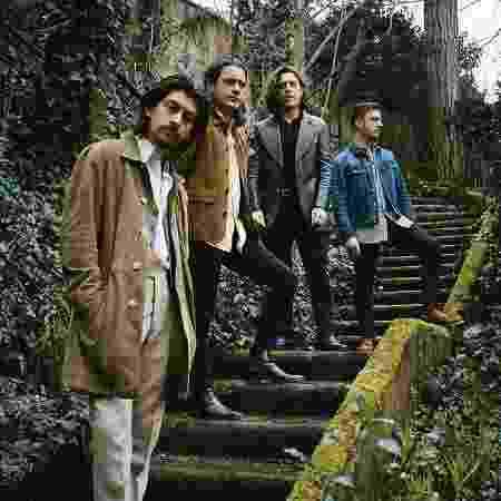 A banda britânica Arctic Monkeys - Reprodução