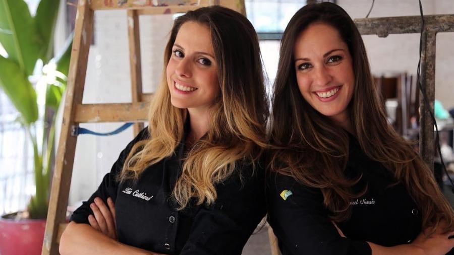 """Livia Cathiard e Raquel Novais, ex-participantes do """"MasterChef"""", anunciam fim da sociedade em uma hamburgueria - Reprodução/Instagram"""