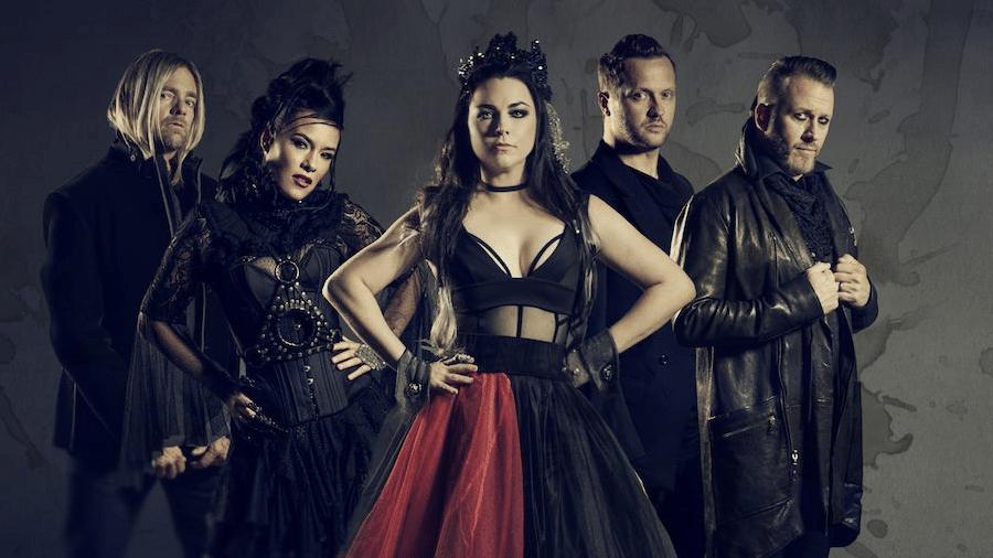 A banda Evanescence - Reprodução