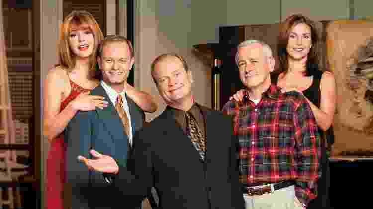 """Elenco de """"Frasier"""" - Reprodução - Reprodução"""