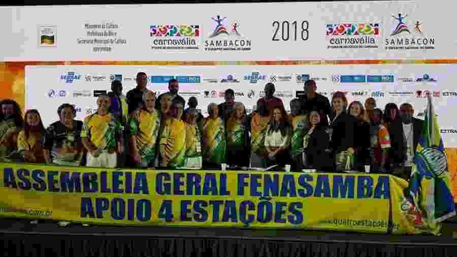 Assembleia Geral da Fenasamba - Divulgação