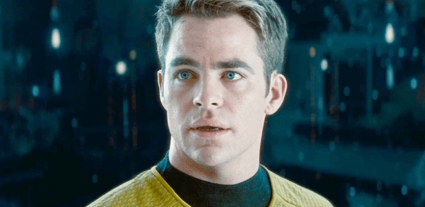 """Chris Pine em cena de """"Star Trek"""""""