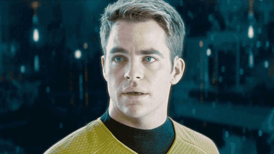 """Chris Pine em cena de """"Star Trek"""" - Reprodução"""